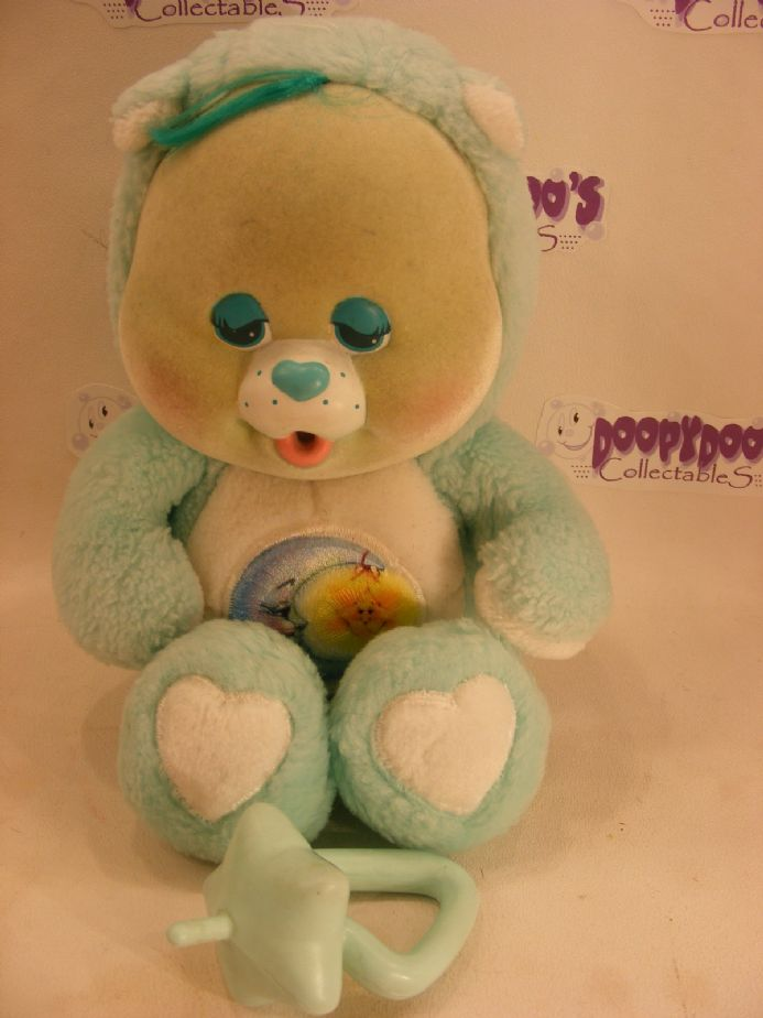 "VINTAGE 11"" BEDTIME CARE BEARS CUB WITH DUMMY"